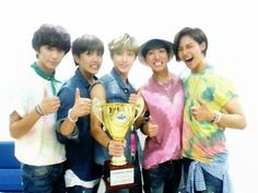 B1A4 win with 'Solo Day' on 'Show Champion' | http://www.allkpop.com/article/2014/07/b1a4-win-with-solo-day-on-show-champion