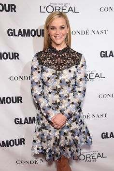 Pin for Later: Seht all' die Girl Power bei den Glamour Awards Reese Witherspoon