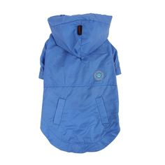 PUPPIA Authentic Windbreaker Pet Raincoat, Double X-Large, Royal Blue * Check this awesome product by going to the link at the image. (This is an affiliate link) Small Dog Clothes, Dog Diapers, Hooded Raincoat, Dog Hoodie, Outdoor Dog, Blue Check, Dog Coats, Outdoor Outfit, Canada Goose Jackets