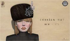 MiWardrobe - Russian Hat - 2*2 - MW (New!!) FROST Fashion Fair | Flickr - Photo Sharing!