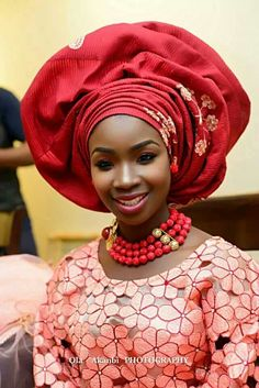 African Sweetheart: Traditional Weddings: Bridal Inspiration For Yoruba Brides African Dresses For Women, African Wear, African Women, African Style, African Clothes, African Attire, African Print Wedding Dress, Ghanaian Fashion, Nigerian Fashion