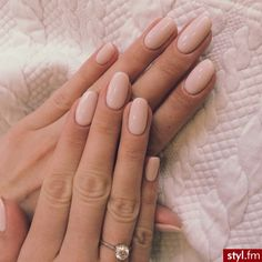 Nail art polonais blush coupe ongle mariée diamants doux - Best Picture For wedding nails for bride For Your Taste You are looking for something, and it is going to How To Do Nails, Fun Nails, Soft Nails, Nail Art Designs, Nails Design, Stars Nails, Uñas Fashion, Bride Nails, Wedding Nails
