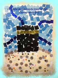 kaaba mosaic -- love this!