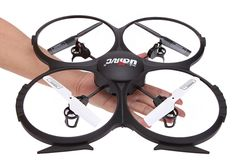 UDI U818A RC Quadcopter with Camera Review