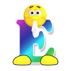 Free Image on Pixabay - Abc, Alphabet, Smiley, Letters Alphabet Letter Templates, Abc Alphabet, Alphabet And Numbers, Public Domain, Free Emoji Printables, Emoticon Faces, Smiley Faces, Das Abc, Smiley Emoji