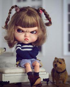 She is so cute awesome custom Cute Cartoon Pictures, Cute Cartoon Girl, Cartoon Art, Baby Face Drawing, Angry Girl, Cute Baby Dolls, Cute Cartoon Wallpapers, Doll Costume, Little Doll