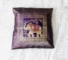 Brocade Home Decor details about silk brocade cushion covers set circle banarasi sofa
