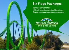 Howard Johnson Inn & Suites are Located less than 3 miles away from Six Flags Discovery Kingdom Park. http://goo.gl/ZAJYpS