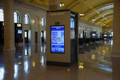 St. Paul Union Depot Reopens with Dynamic Tightrope Digital Signage Systems