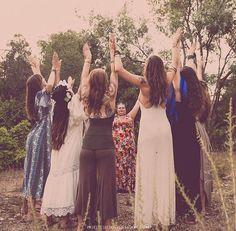 Creating Transformation, Healing & Empowerment by Celebrating & Embodying Wild Sacred Women's Wisdom, Worldwide & Online. Wicca, Pagan, Full Moon Photos, Coven, The Gathering, Girl Boss, Dream Life, Amazing Women, Photoshoot