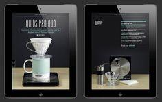 Caffeine iPad app by Scott Bentley, via Behance