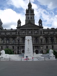Glasgow war Memorial, St. George's square