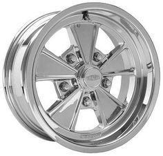 Cragar Series 500P Eliminator RWD - Polished : Cragar Wheels