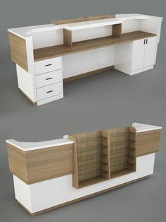 pharmacy design interior shelves Cashier Counter Design, Office Table Design, Hospital Design, Retail Store Design, Store Interiors, Shelf Design, Shop Interior Design, Stores, Funny Nursing