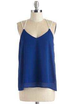 Strappy Savvy Top | Mod Retro Vintage Short Sleeve Shirts | ModCloth.com