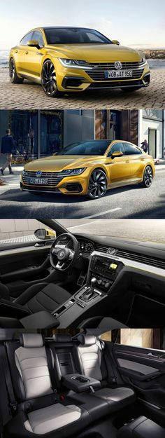 Meet the Hot Sister of Passat: Volkswagen Arteon Revealed at Geneva Motor Show 2017