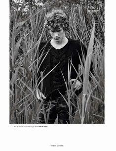 Bram Valbracht para Vogue Hommes Fall/Winter 2015 - Male Fashion Trends