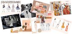 Portfolio Examples, Portfolio Layout, Fashion Competition, Student Portfolios, Portfolio Presentation, Become A Fashion Designer, Fashion Design Portfolio, College Fashion, Fabric Swatches