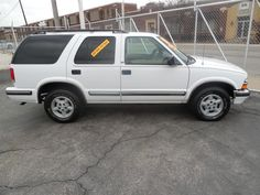 Here's a 1998 Chevrolet Blazer that I have.  It has low miles.  Let me know what you think.