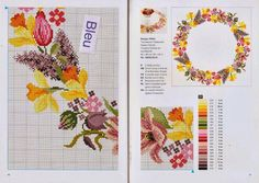 Gallery.ru / Фото #23 - Pretty Pastel - Chepi Easter Tablecloth, Easter Cross, Pretty Pastel, Pattern Books, Embroidery Thread, Needlepoint, Cross Stitch, Bullet Journal, Design
