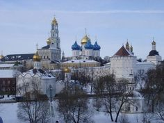 Trinity Lavra of St. Sergius monastery in Sergiyev Posad