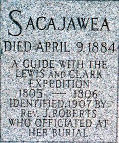sacajawea =woman  power