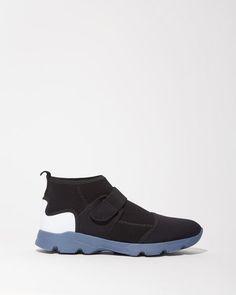 Marni | Stretch Neoprene Sneakers | La Garçonne