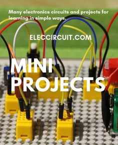 Basic Electronic Circuits, Electronic Circuit Projects, Electronic Engineering, Mechanical Engineering, Electrical Projects, Electrical Installation, Electronics Mini Projects, Electronics Gadgets, Electronics Projects For Beginners