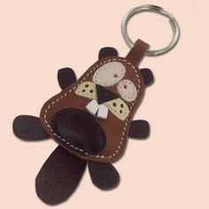 Ronnie The Cute Little Horse Leather Animal Keychain FREE by snis