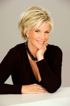 Joan Lunden Short Hair | am scheduled to an interview today with a web site called ...                                                                                                                                                                                 More