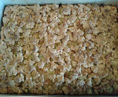Rezept Dinkel-Rhabarberkuchen mit Vollkornstreuseln von GAGA1963 - Rezept der Kategorie Backen süß