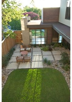 modern patio by Greico Designers/Builders Dallas