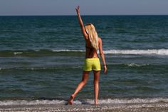 Lime shorts #summer #sea Funny Moments, Lime, In This Moment, Sea, Running, Shorts, Summer, Collection, Limes
