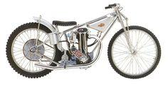 J.A.P Engined vintage speedway bike 1949