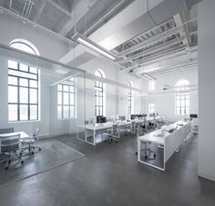 BLUE Communication office by Jean Guy Chabauty & Anne Sophie Goneau, Montreal » Retail Design Blog