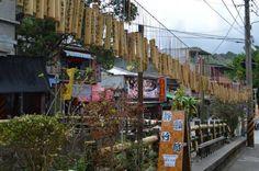 平渓線、十分の風景【台湾】