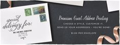 Premium Guest Address Printing