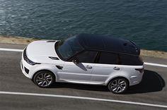 Nouveau Range Rover Sport P400e hybride rechargeable.