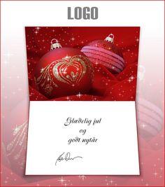 ekortet.dk leverer danmarks flotteste elektroniske julekort til virksomheder. På billedet: Julekort med logo. Julepynt. Juletræskugler.Ekort, e-kort, e-julekort, ejulekort, elektroniske julekort, ecard, e-card, firmajulekort, firma julekort, erhvervsjulekort, julekort til erhverv, julekort med logo, velgørenhedsjulekort, julekort