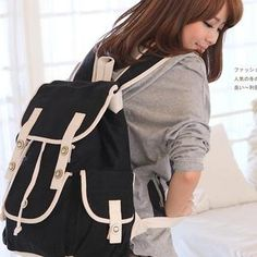 Buckled  Backpack from #YesStyle <3 B.B. HOUSE YesStyle.com.au