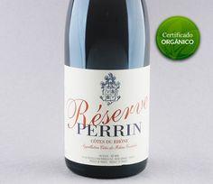 Sobrenome de garantia: Perrin Réserve Rouge #vinho #vinhoorganico #organico #grenache #mourvedre #syrah #perrin