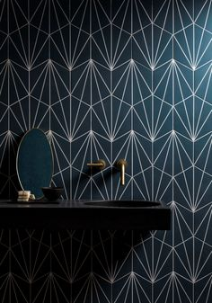 Discover the top tile trends for Keep it timeless with our marble tiles, create a stunning living space with our indoor outdoor porcelain tiles & more! Bathroom Wallpaper Trends, Mandarin Stone, Victorian Tiles, Outdoor Tiles, Herringbone Tile, Hexagon Tiles, Blue Tiles, Stone Tiles, Bathroom Flooring