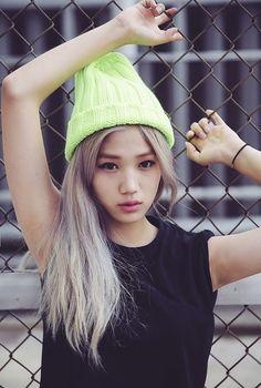 ulzzang ver of kai Asian Street Style, Korean Street Fashion, Asian Fashion, Kpop Fashion, Fashion Models, Girl Fashion, Kawaii Hairstyles, Girl Hairstyles, Korean Girl