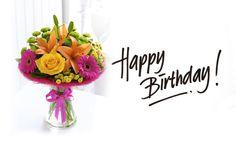 happy birthday hd images - Google Search Happy Birthday Flowers Images, Happy Birthday Bouquet, Birthday Images Hd, Birthday Wishes Greeting Cards, Birthday Cards For Niece, Birthday Wishes Flowers, Happy Birthday Wishes Images, Happy Birthday Wallpaper, Happy Birthday My Love
