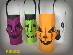lavoretto Halloween- lanterne di carta