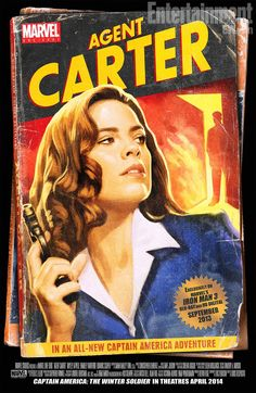 Poster for the new One-Shot, Agent Carter! - Imgur