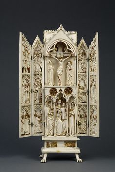 Virgin and Child, the Crucifixion and Scenes from the Life of Christ (Polyptych) | V Search the Collections