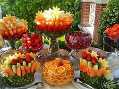 Fruit displays
