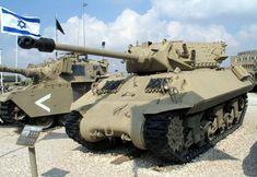 M10-Achilles-latrun-1 - M10 tank destroyer - Wikipedia Armored Vehicles, Military Vehicles, M10 Tank Destroyer, M10 Wolverine, Sherman Tank, Achilles, Armored Fighting Vehicle, Ww2 Tanks, Photos Du