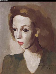 Marie Laurencin (1883-1956), Portrait of Jidelina